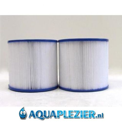 AquaPlezier Spa Filter Pleatco PRB17.5SF-JH-PAIR Unicel C-4401 Filbur FC-2386 Darlly SC726