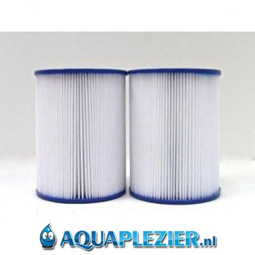 AquaPlezier Spa Filter Pleatco PRB25SF-PAIR Unicel C-4405 Filbur FC-2387 Darlly SC732