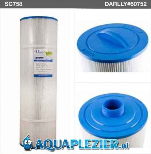 AquaPlezier Spa Filter Pleatco Unicel 6CH-75 Filbur Darlly 60752 F4S SC758
